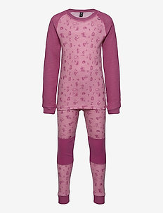 K HH LIFA MERINO SET - underklädesset - bubblegum pink