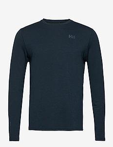 HH LIFA ACTIVE SOLEN LS - långärmade tröjor - navy