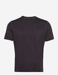HH LIFA ACTIVE SOLEN T-SHIRT - t-shirts - ebony