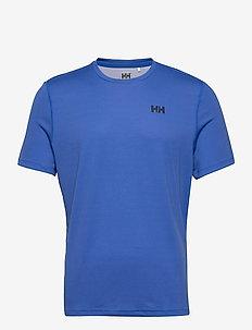 HH LIFA ACTIVE SOLEN T-SHIRT - t-shirts - royal blue