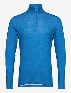 LIFA MERINO MIDWEIGHT 1/2 ZIP - yläosat - electric blue