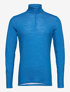 LIFA MERINO MIDWEIGHT 1/2 ZIP - tops - electric blue