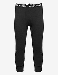 LIFA MERINO MIDWEIGHT 3/4 PANT - bottoms - black