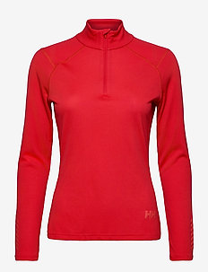 W LIFA ACTIVE 1/2 ZIP - thermo ondershirts - raspberry