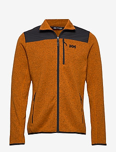 VARDE FLEECE JACKET - MARMALADE