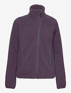 W LYRA JACKET - fleece - nightshade
