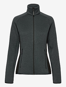 W VARDE FLEECE JACKET - fleece midlayer - slate