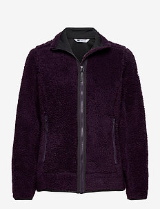 W SUNDOWN PILE JACKET - fleece midlayer - nightshade