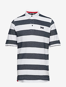MARSTRAND POLO - NAVY STRIPE