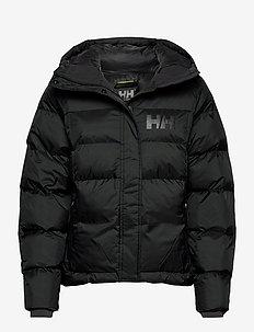 W STELLAR PUFFY JACKET - isolerende jakker - black