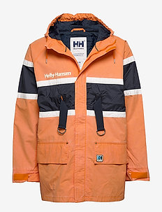 HH SALT HERITAGE JACKET - ORANGE PEEL