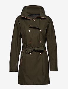 W WELSEY II TRENCH - outdoor & rain jackets - forest night