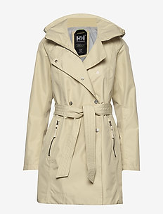 W WELSEY II TRENCH - parkaser - heritage khaki