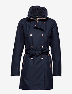 W WELSEY II TRENCH - parka coats - navy