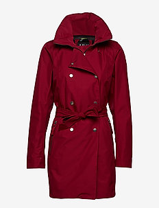 W WELSEY II TRENCH - PLUM