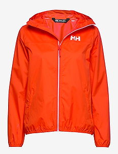W BELFAST PACKABLE JACKET - outdoor & rain jackets - cherry tomato