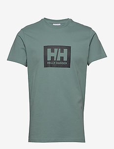 HH BOX T - t-shirts - jade