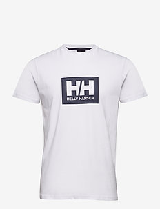 HH BOX T - t-shirts - white