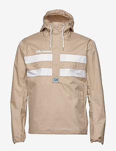 HH HERITAGE ANORAK - sports jackets - aluminum