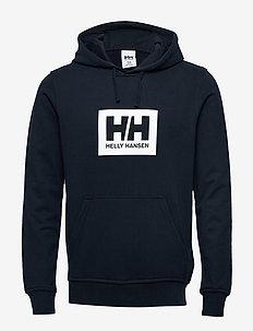 HH BOX HOODIE - hettegensere - navy