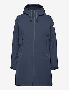 W MONO MATERIAL RAINCOAT - manteaux de pluie - navy