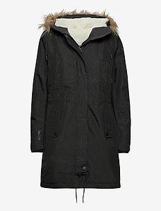 W MAYEN PARKA - isolerande jackor - black
