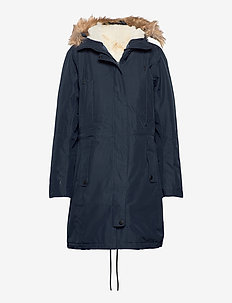 W MAYEN PARKA - insulated jackets - navy