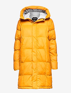 W BELOVED PUFFY PARKA - down jackets - golden glow