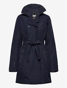 W WELSEY II TRENCH INSULATED - parkacoats - 598 navy