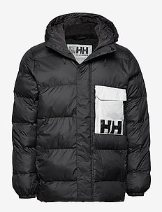 P&C PUFFER JACKET - BLACK
