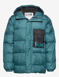 P&C PUFFER JACKET - WASHED TEAL