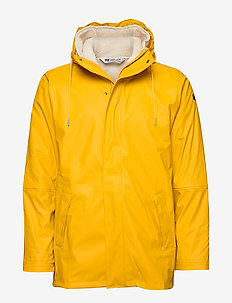MOSS INSULATED RAIN COAT - ESSENTIAL YELLOW