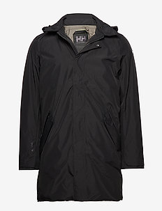 OSLO PADDED COAT - BLACK