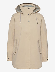 W VALENTIA RAINCOAT - outdoor & rain jackets - cream
