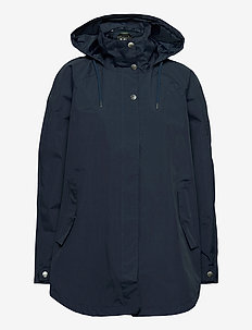 W VALENTIA RAINCOAT - outdoor & rain jackets - navy