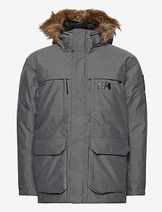 NORDSJO PARKA - vestes d'extérieur et de pluie - 949 grey melange