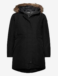 W ALVA 2.0 PARKA - insulated jackets - black