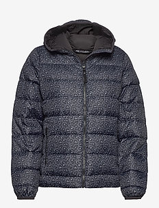 W SVALBARD DOWN JACKET - down jackets - ebony