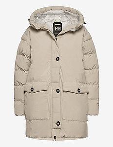 W ARYA PARKA - insulated jackets - pelican