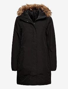 W ADEN WINTER PARKA - isolerande jackor - black