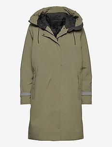 W VICTORIA INS RAIN COAT - insulated jackets - lav green