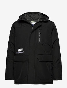 YU WINTER PARKA - insulated jackets - black