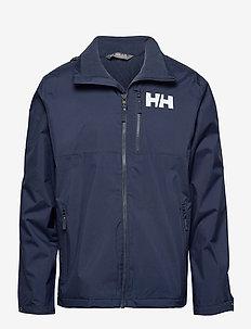 ACTIVE HOODED MIDLAYER JACKET - jakker og regnjakker - navy