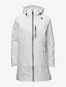 W LONG BELFAST JACKET - parki - white