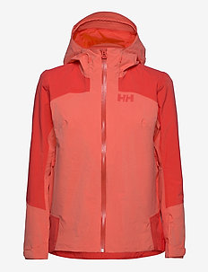W VERGLAS 2L RIPSTOP SHELL JAC - outdoor & rain jackets - hot coral