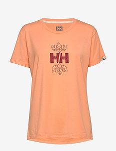 W SKOG GRAPHIC TEE - t-shirts - melon