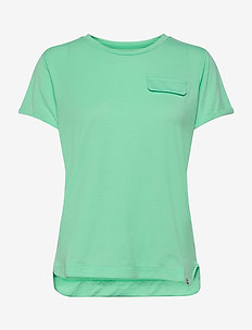 W LOMMA TEE - t-shirts - spring bud