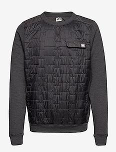 MOVATN WOOL INS SWEATER - basic-sweatshirts - ebony