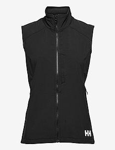 W PARAMOUNT SOFTSHELL VEST - vestes rembourrées - 990 black