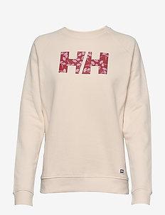 W F2F COTTON SWEATER - sweatshirts - light ros